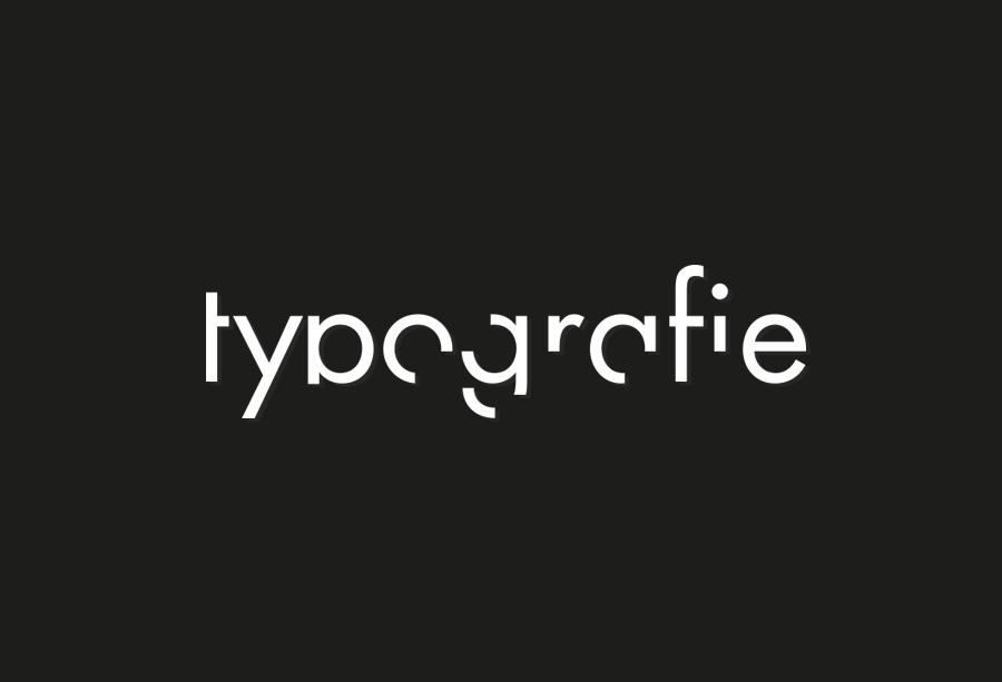 Typografieplakat